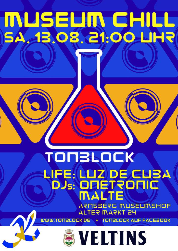 Flyer Tonblock 13.08.